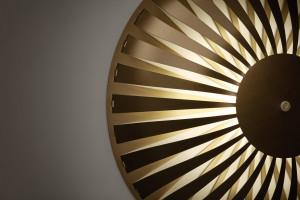 Studio Susanne de Graef Glint Light Collection (wall) 2017 Anodized aluminum 16 x 16 x 4 inches