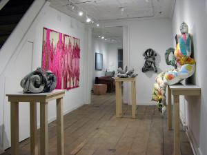 Thread by Thread group exhibition featuring: Liz Collins, Meg Lipke and David B. Smith at LMAKbooks+design in 2017