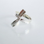 E for Effort Twist Tie Ring SilverDivers sizes