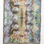 David B. Smith Gabe's moon, 2016 Digitally woven cotton blanket 71 x 53 inches