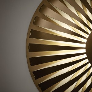 Studio Susanne de Graef – Glint Light (Wall) Brass 01