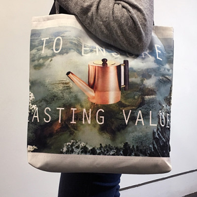 Tote bag by Alissa D. Polan