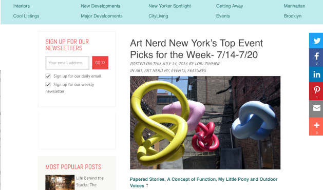 Art Nerd New York's Lori Zimmer picks LMAK