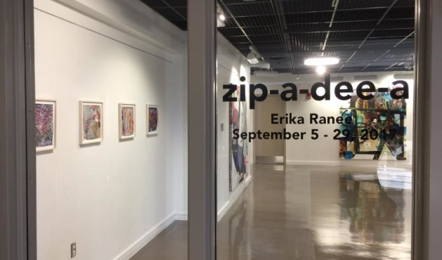 Solo Show of Erika Ranee at Framingham State University
