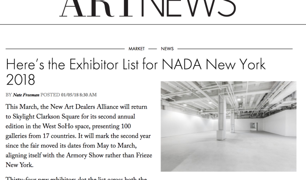 Liz Collins to be featured at NADA New York 2018